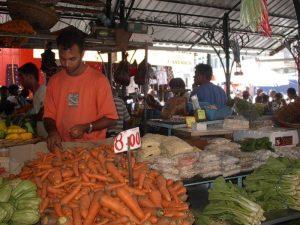 Port Louis Markt Mauritius