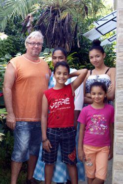 Familie Schaller - Gästehaus Heliconia auf Mauritius